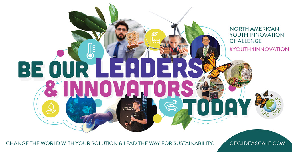 Be our Leaders and Innovators Today! - Poster for the 2019 Youth Innovation Challenge