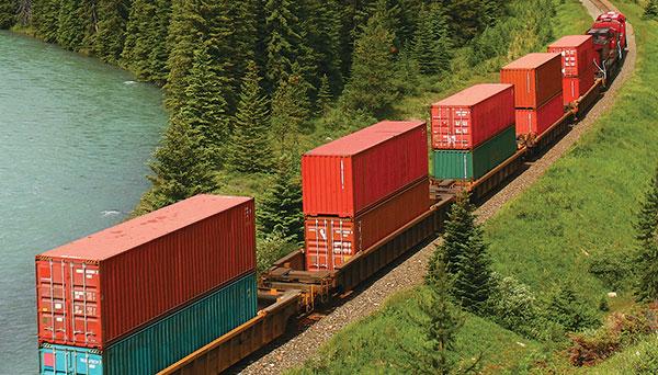 Le transport durable de marchandises en Amérique du Nord