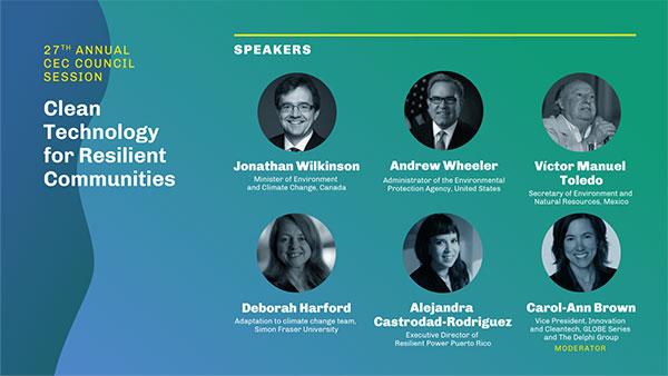 #CEC27 - CEC Council Speakers