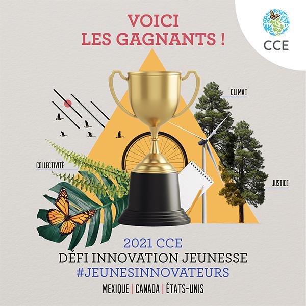 Des gagnants du Défi innovation jeunesse